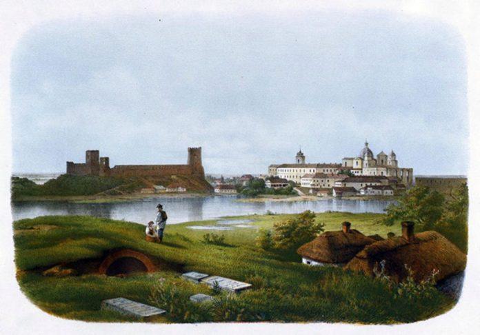 Панорама Луцька зі Святої гірки (тепер вулиця Гаврилюка)