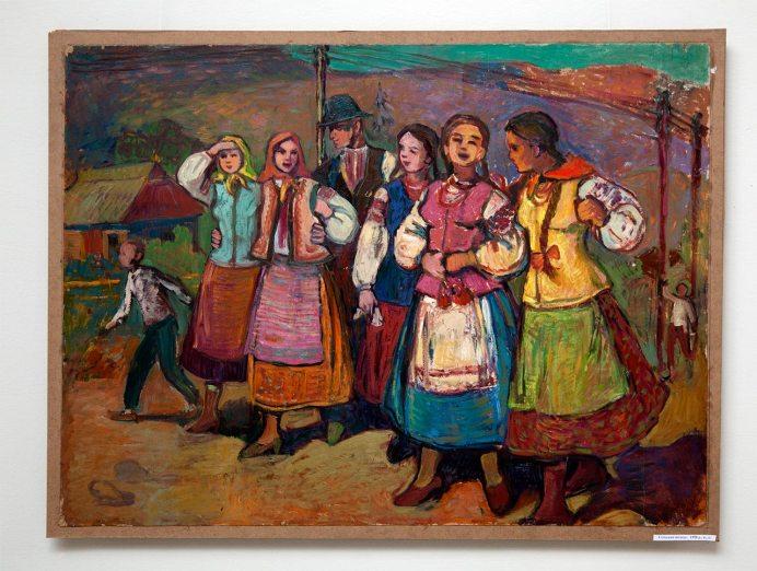 Відкриття виставки робіт Софії Караффи-Корбут