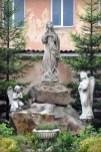 Центральна скульптура знайдена у підвалі під час відновлення костелу