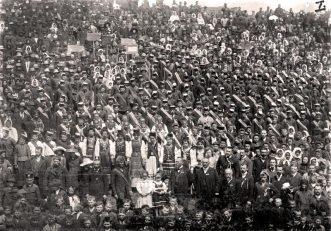Сокільське свято в містечку Копичинці на Тернопільщині. 29 вересня 1912 р.