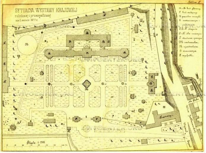 План виставки 1877 року