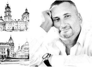 10 розкішних замальовок Львова Костянтина Нагорного