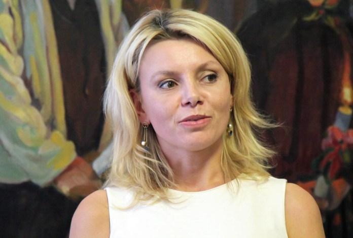 Директор департаменту з питань культури, національностей та релігій Львівської ОДА Мирослава Туркало