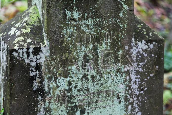 Могила Людвіка Марека на Личаківському цвинтарі