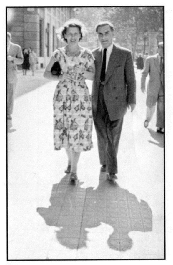 Степан Попель з дружиною Валентиною