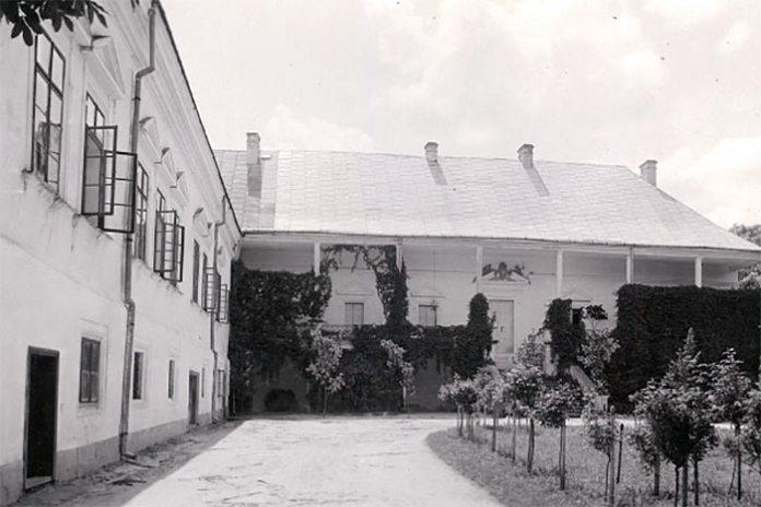 Замок у Поморянах, фото 1925 року