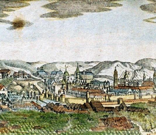 Панорама Львова, 1775