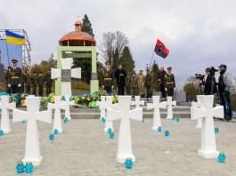 Відкриття Меморіального комплексу полеглим січовикам Карпатської України на Верецькому перевалі