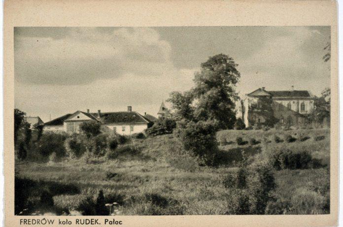 Палац Фредрів біля Рудок, 1918 р.