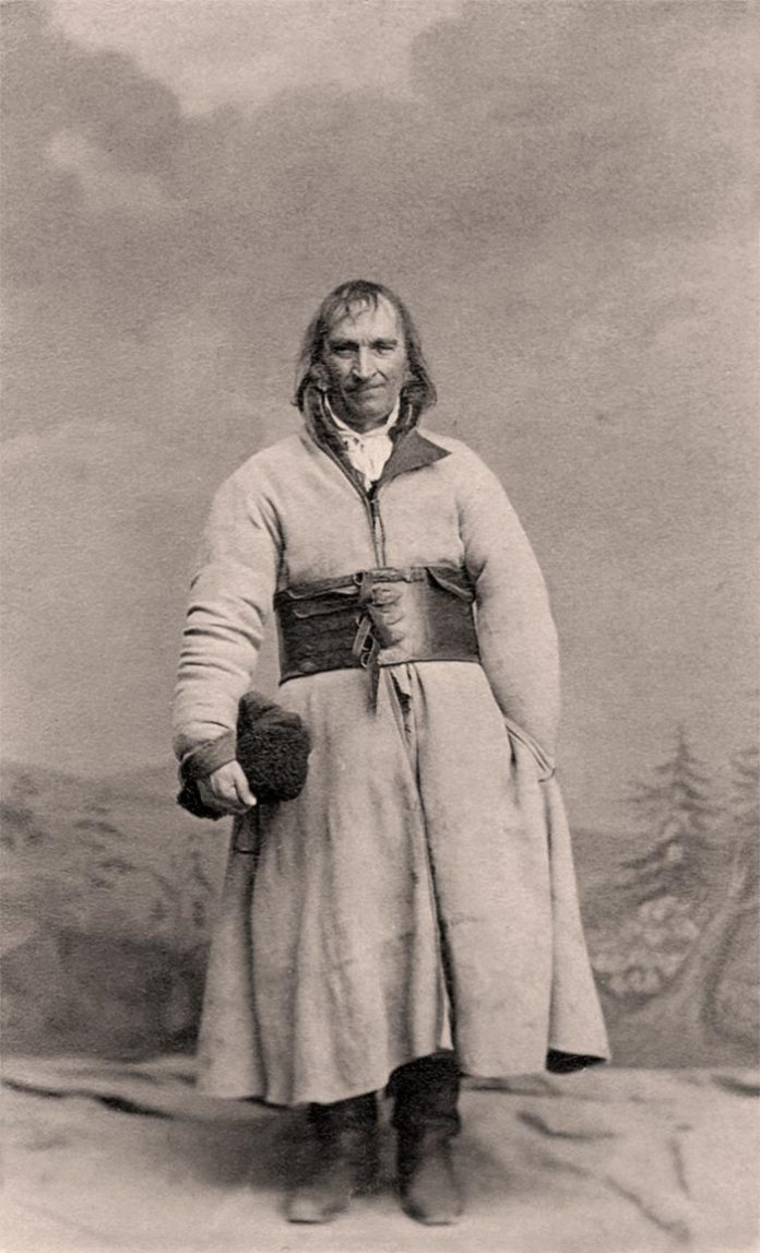 Вавринець Окрайчи, фото 1863 року Джерело фото: http://www.mhk.pl/