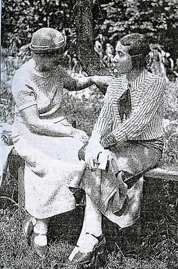 М.Дольницька та Я.Музика у Львові. 1935