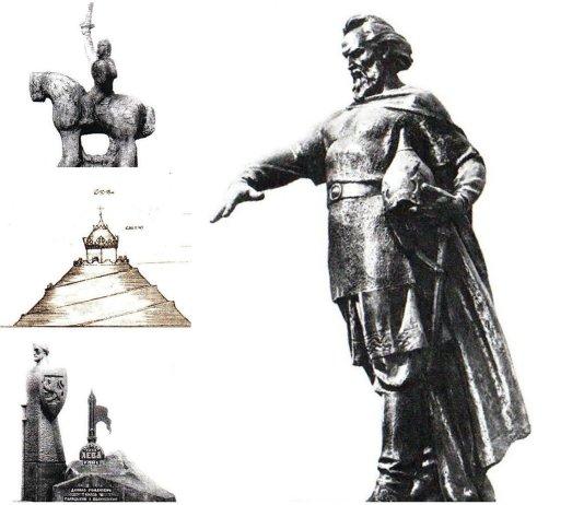 Яким міг бути пам'ятник засновнику міста Лева