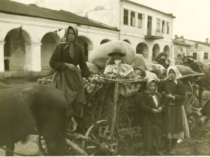 Кристинопіль на фото Австрійського державного архіву, 1915-1918 років