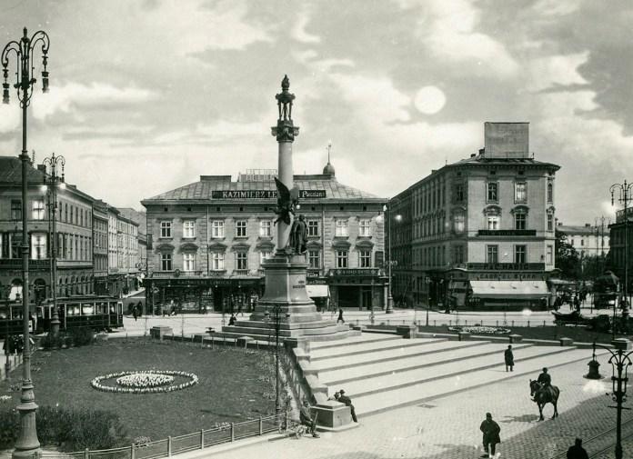 Марійська площа, фото початку ХХ століття
