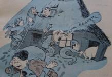 Бешкетний щедрик від львівських гумористів та карикатуристів міжвоєнного періоду