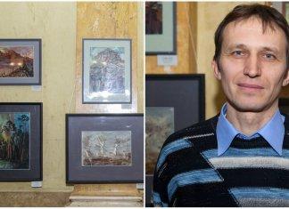 Виставка живопису та графіки Олега Якимовича відкрилася у Львові