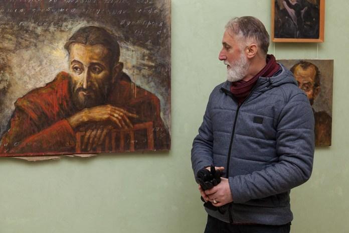 """Відкриття виставки малярства Петра Гуменюка """"Знайомі обличчя"""""""