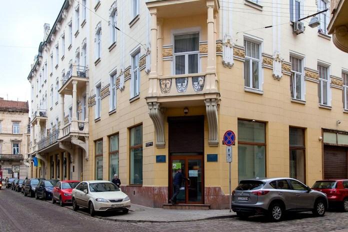 Будинок у Львові по вілиці Костюшка, 1а, фото 2018 року