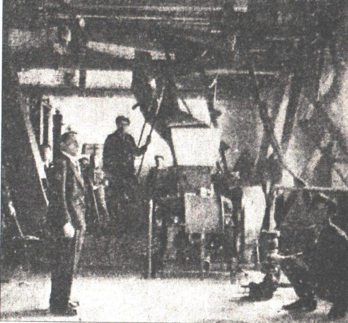 """Обладнання для миття та подрібненняовочів і фруктів кооперативу """"Суспільний промисл"""", 1935 р."""