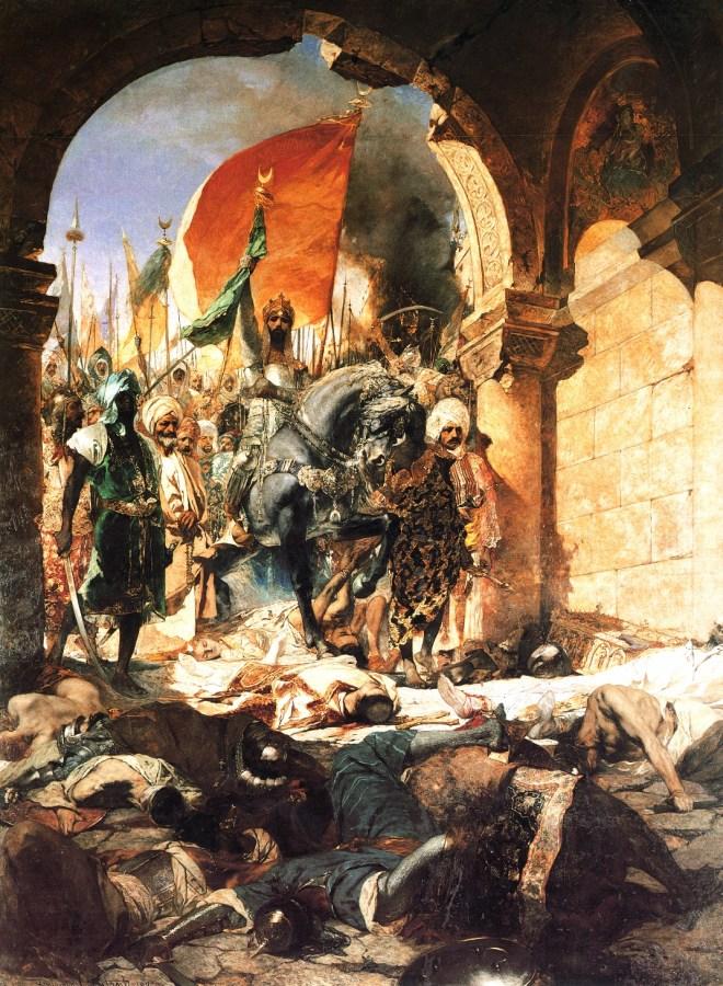 Вступ Мехмеда ІІ в Константинополь. Фото з http://www.wikiwand.com