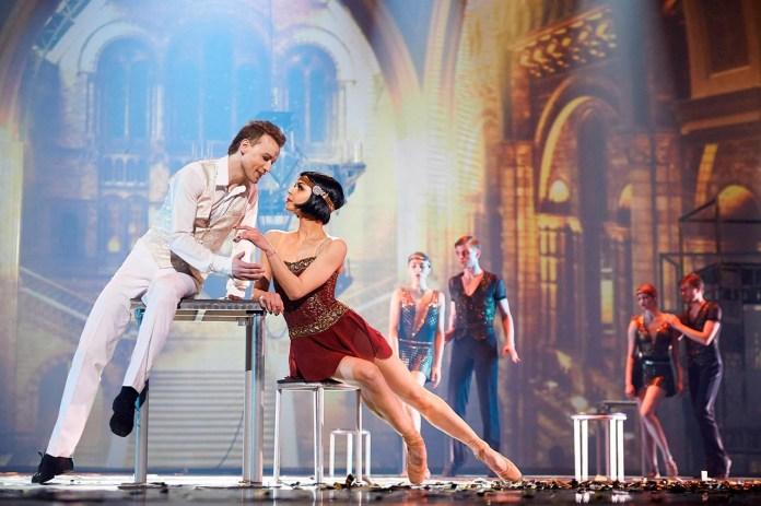 Сцена з балету «Великий Гетсбі»