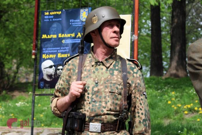 Експозиція виставки до 75-ї річниці 1 Української дивізії «Галичина». Фото Олена Ляхович, Гал-інфо.