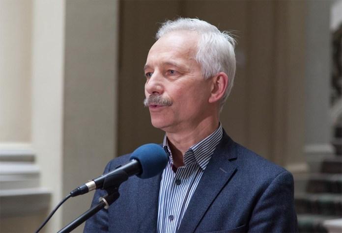 Ректор Львівської національної академії мистецтв Володимир Одрехівський