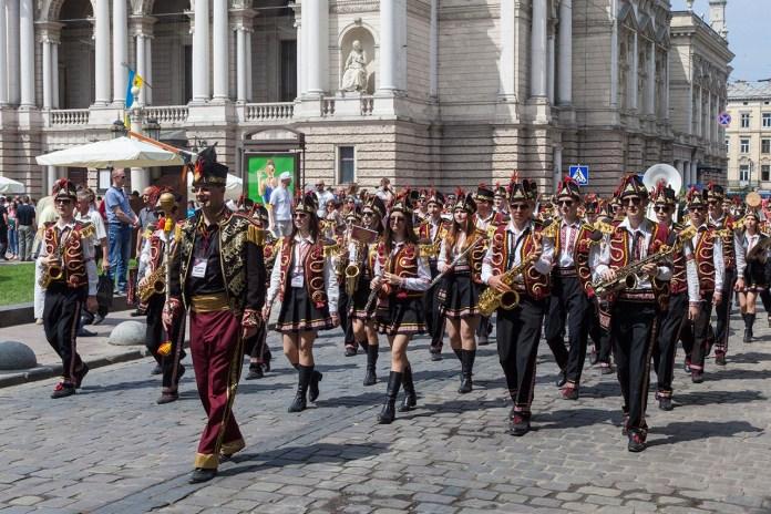 Святковий парад до 762-гої річниці міста Львова