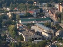 Вигляд трамвайного депо № 2 з Високого замку. 2010 р. Фото Андрія Василюка