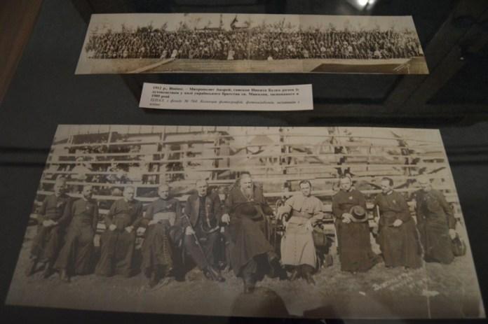 Експозиція виставки «Українська трудова еміграція в Канаду»