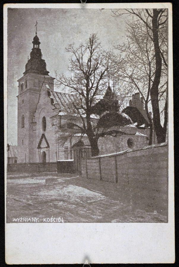 Костел св. Миколая у Вижнянах , до 1929 р.