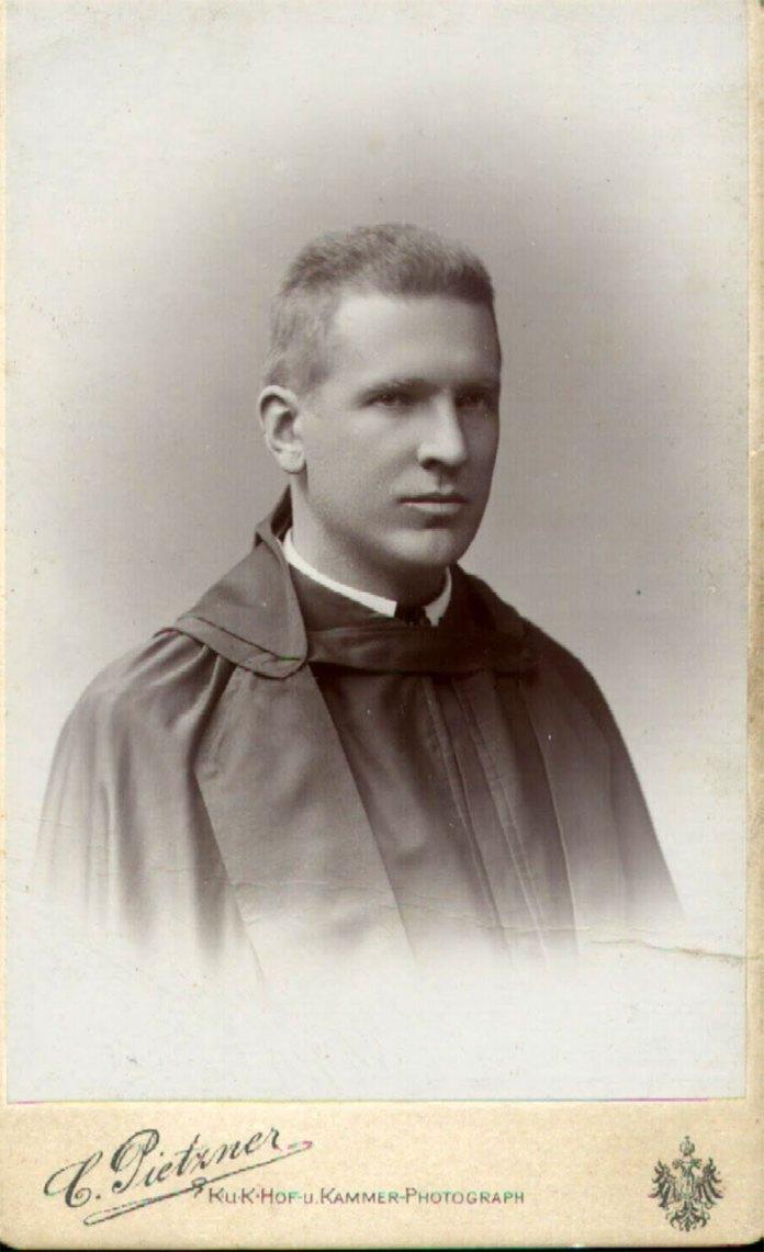 О. Андрей (Роман граф Шептицький). Фото зроблене у 1893 році
