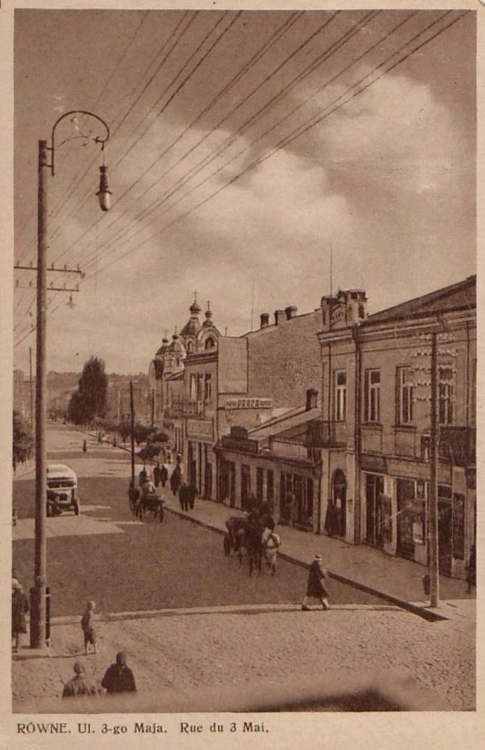 Перші автобуси на вулицях Рівного, 20-і роки ХХ ст.