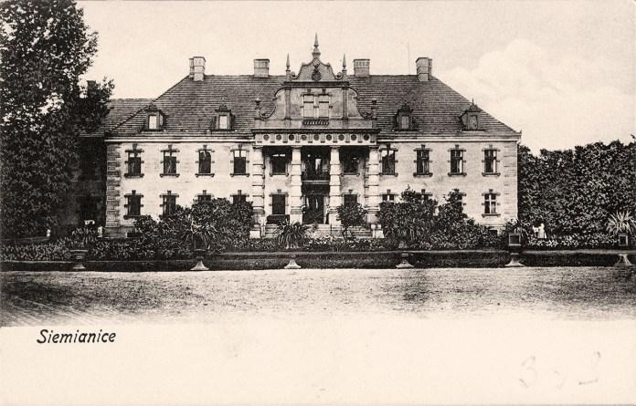 Сім'яничі. Палац графів Шембеків