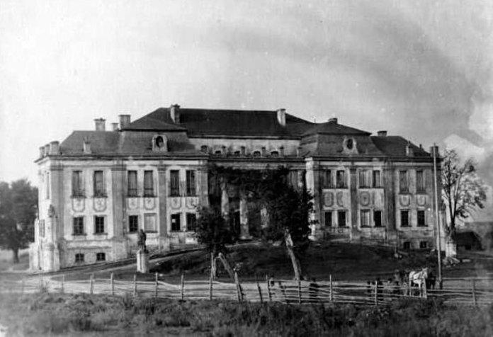 Палац Любомирських в Рівному. Фото початку ХХ століття