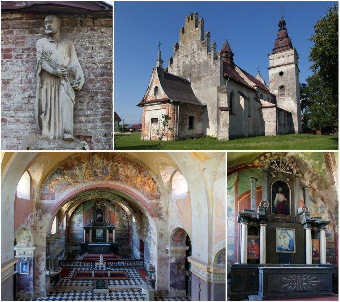 Розписи, які зачаровують, або костел святого Миколая у Вижнянах