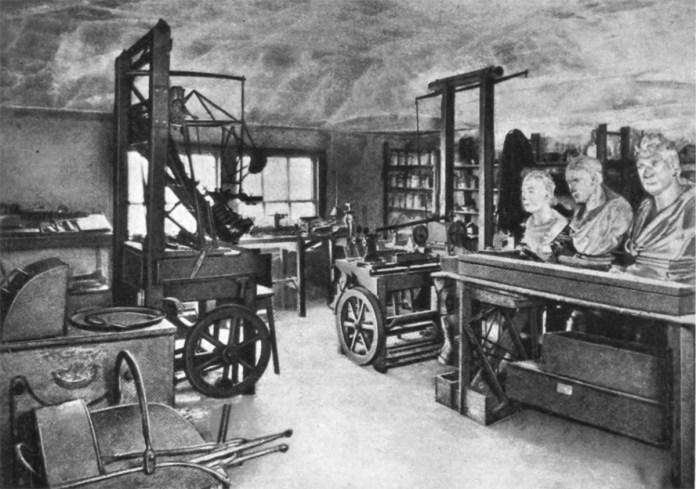 Майстерня Джеймса Уатта в університеті Глазго, нині - музей.