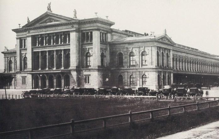 Південний вокзал у Відні. 1875 р.