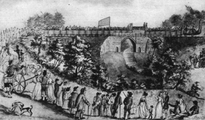 Відкриття залізниці між Стоктоном і Дарлінгтоном.