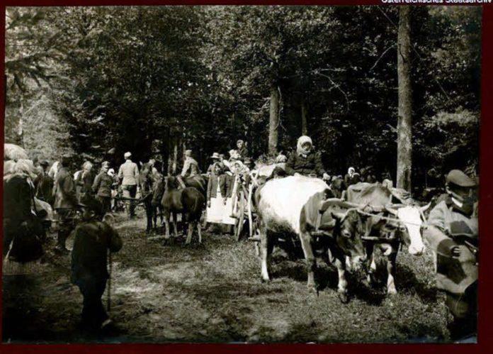 Підмонастирок (Радехівський район Львівська обл.) часів Першої світової війни