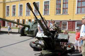 День відкритих дверей Національній академії сухопутних військ імені гетьмана Петра Сагайдачного.