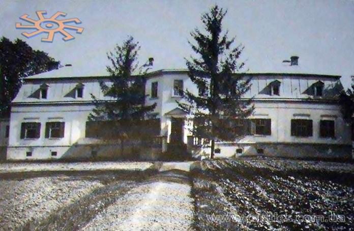 Палац в Пустомитах, 1938 р.