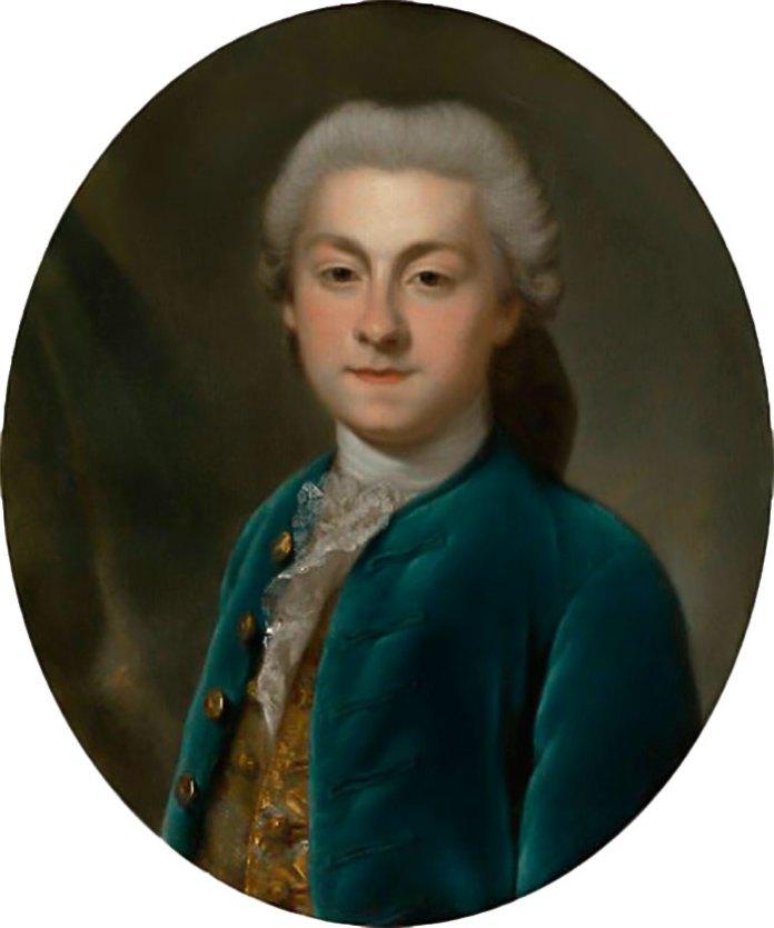 Чоловік Людвіки Юзеф Любомирський. Автор невідомий, XVIII ст.