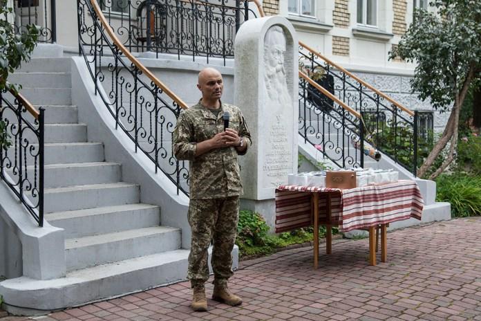 Полковник Олександр Поронюк. Фото Ірини Бердаль-Шевчик