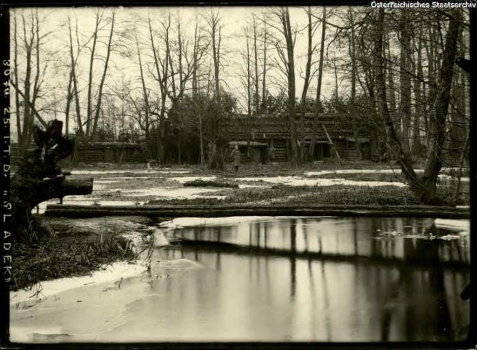 Річка Бовдурка, фото 1917 року