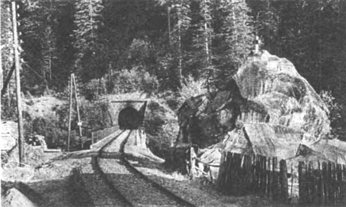 """Залізничний тунель біля """"Каменя Довбуша"""""""