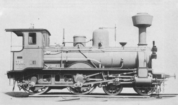 Чотирьохвісний паротяг Галицької трансверсальної залізниці