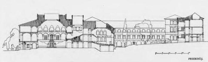 Проект нової будівлі львівського університету Владислава Дердацького та Вітольда Мінкевича, 1913