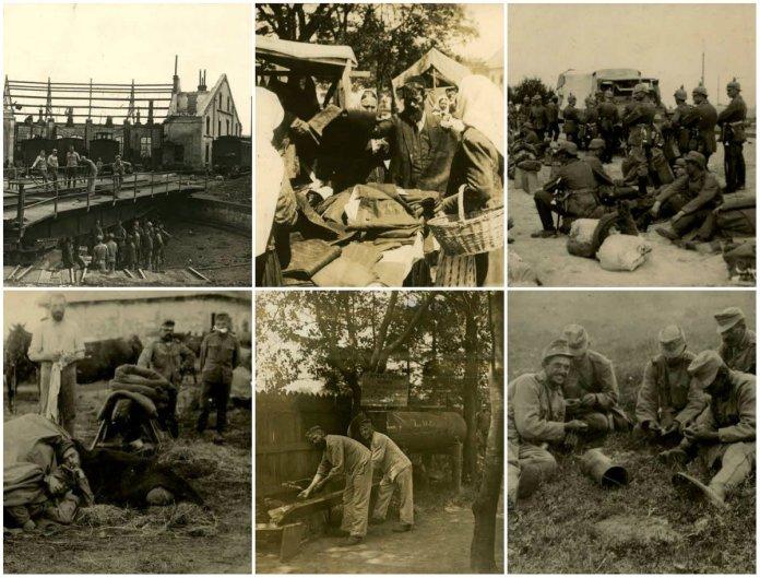 Рава-Руська на фото з Австрійського архіву часів Першої світової війни