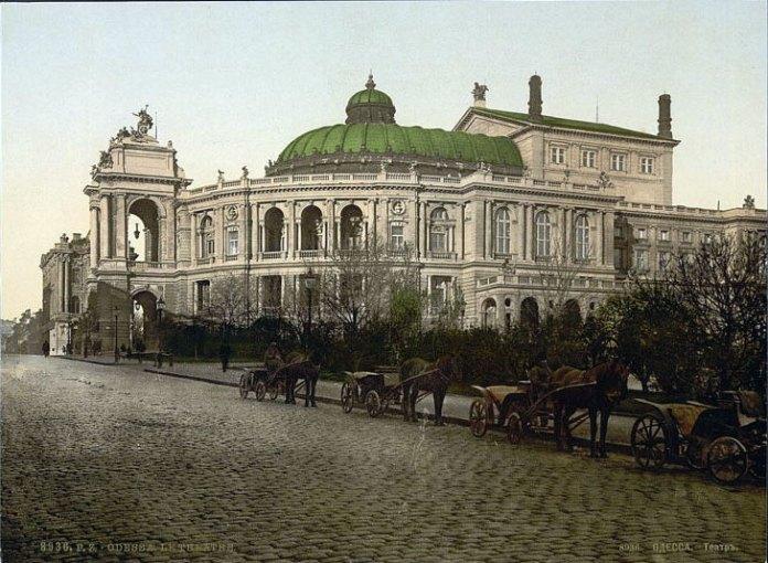 Одеський оперний театр, джерело фото: polona.pl